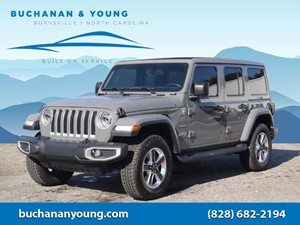 Picture of a 2020 Jeep Wrangler Unlimited Sahara