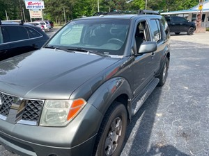 Picture of a 2006 NISSAN PATHFINDER S