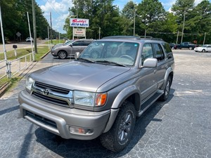 2002 TOYOTA 4RUNNER LIMITED for sale by dealer