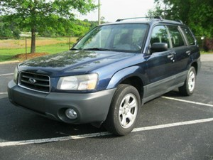 2005 SUBARU FORESTER 2.5X for sale by dealer
