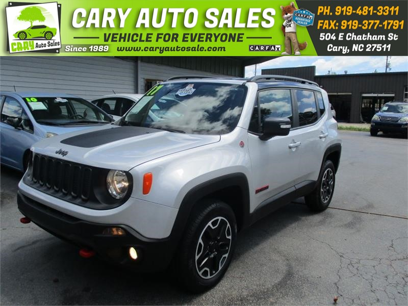 Jeep Renegade Trailhawk For Sale >> 2017 Jeep Renegade Trailhawk For Sale In Cary