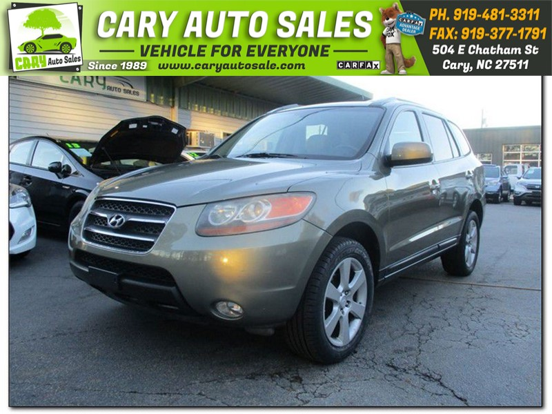 2007 Hyundai Santa Fe Limited For Sale In Cary