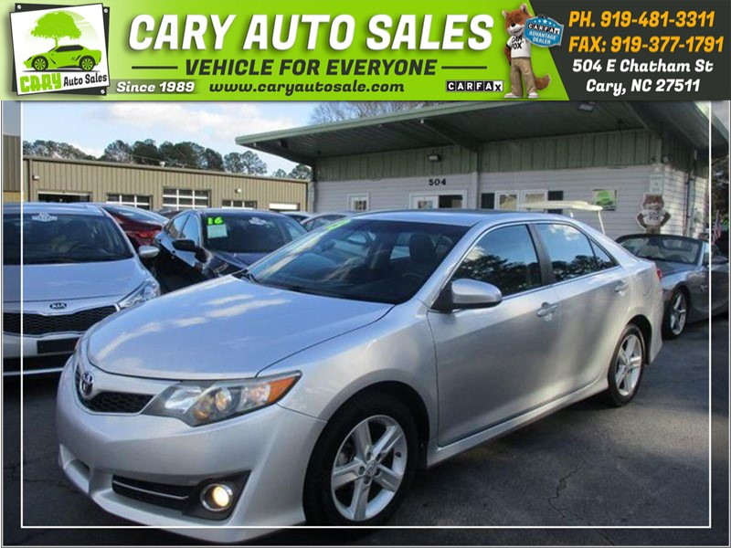 2013 Toyota Camry For Sale >> 2013 Toyota Camry Se In Cary