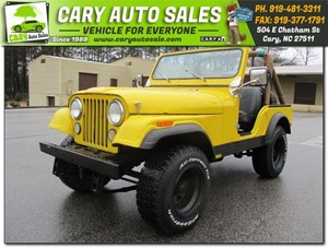 Picture of a 1980 JEEP CJ5