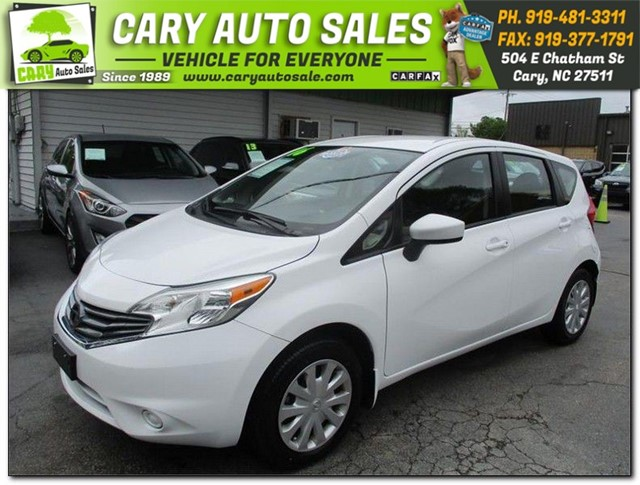 NISSAN VERSA NOTE S Plus in Cary