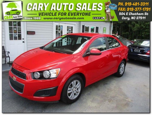 CHEVROLET SONIC LT in Cary