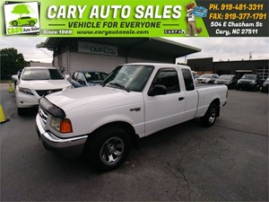 2002 FORD RANGER SUPER CAB Cary NC