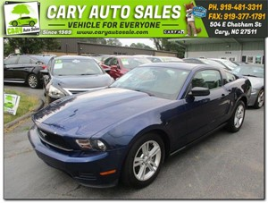 2010 FORD MUSTANG Cary NC