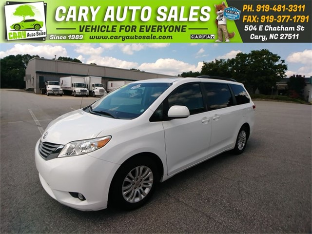 TOYOTA SIENNA XLE 8 Passenger in Cary