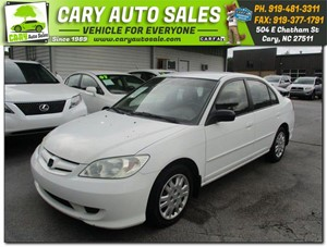 Picture of a 2005 HONDA CIVIC LX