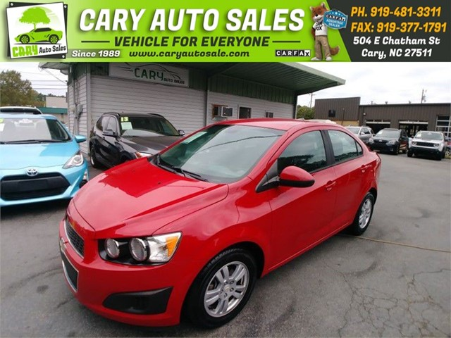 CHEVROLET SONIC LS in Cary