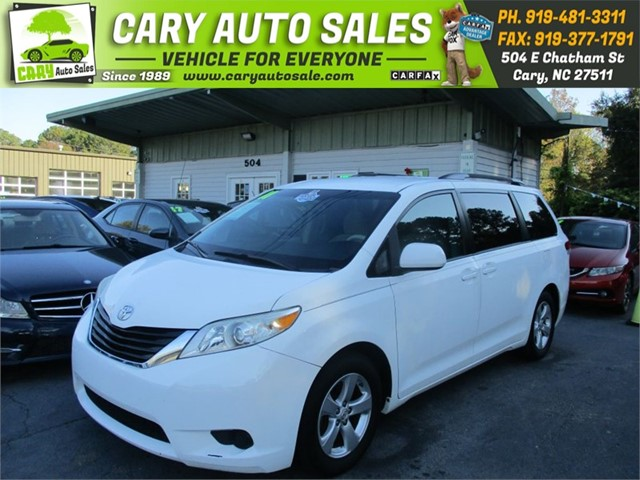 TOYOTA SIENNA LE in Cary