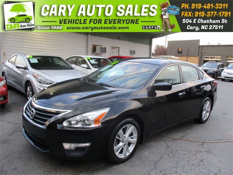 2013 Nissan Altima 2.5 Sv >> 2013 Nissan Altima 2 5 Sv In Cary