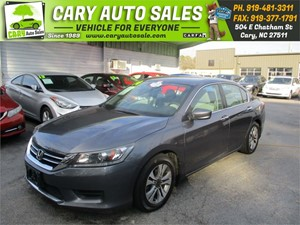 Picture of a 2014 HONDA ACCORD LX