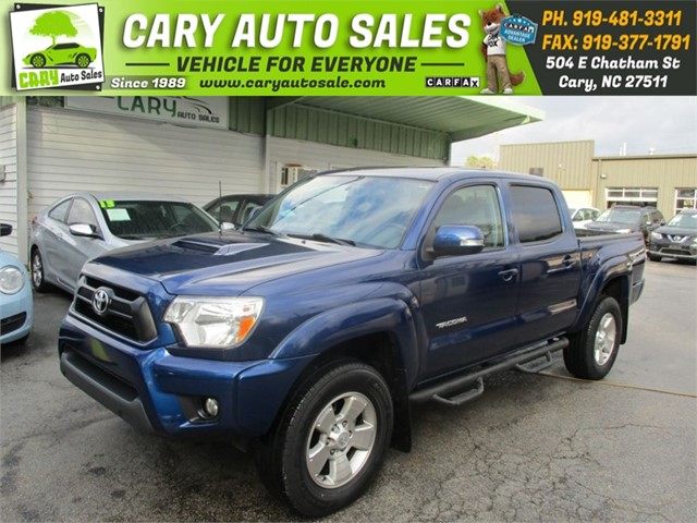 TOYOTA TACOMA TRD SPOR DOUBLE CAB PRERUNNER in Cary