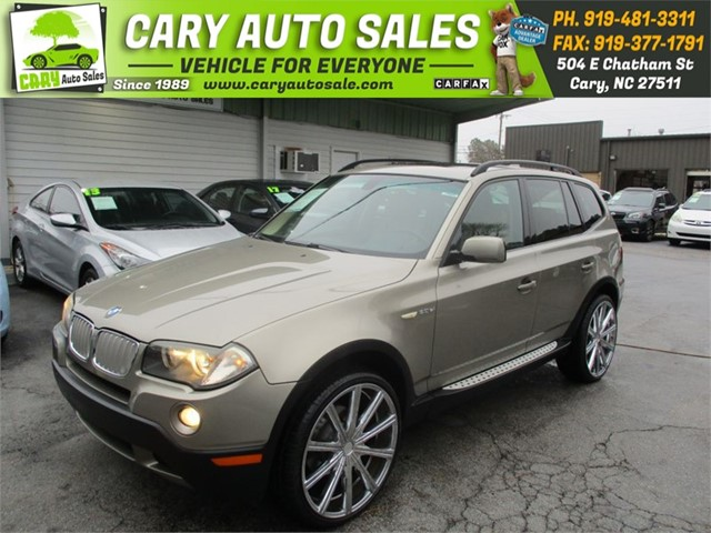 BMW X3 3.0SI in Cary