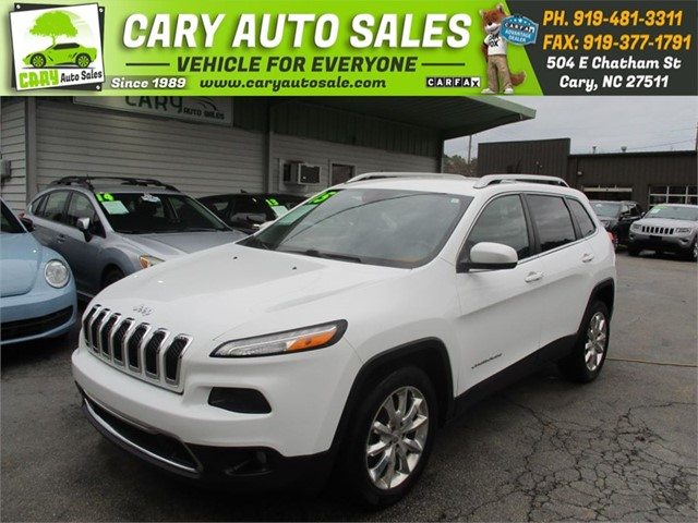 JEEP CHEROKEE LIMITED in Cary