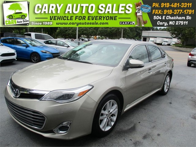 TOYOTA AVALON XLE in Cary
