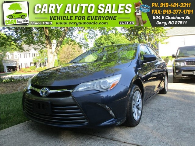 TOYOTA CAMRY HYBRID in Cary