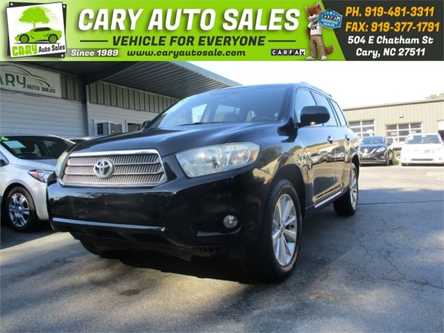 TOYOTA HIGHLANDER HYBRID LIMITED AWD in Cary