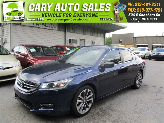 HONDA ACCORD SPORT in Cary