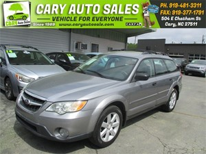 Picture of a 2008 SUBARU OUTBACK 2.5I