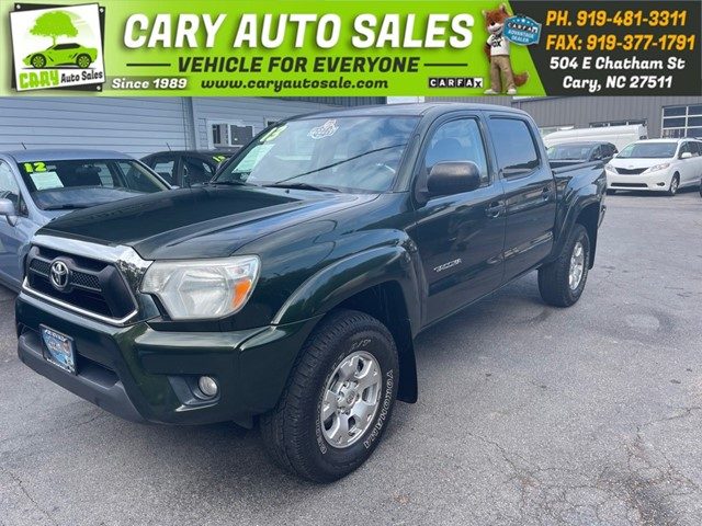 TOYOTA TACOMA DOUBLE CAB PRERUNNER TRD (Natl in Cary
