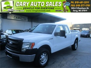 Picture of a 2014 FORD F150 SUPER CAB XL 4WD
