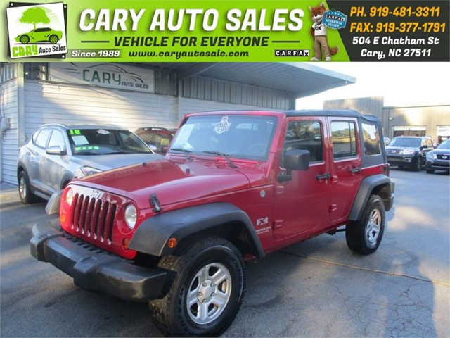 JEEP WRANGLER X in Cary