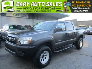 Picture of a 2014 TOYOTA TACOMA DOUBLE CAB PRERUNNER