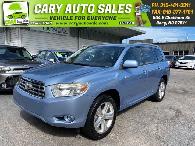 TOYOTA HIGHLANDER LIMITED in Cary