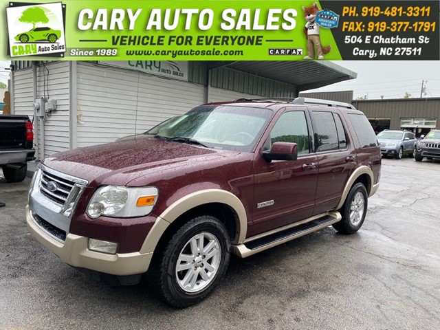 FORD EXPLORER EDDIE BAUER 4WD in Cary