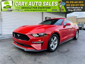 Picture of a 2018 FORD MUSTANG EcoBoost Fastback