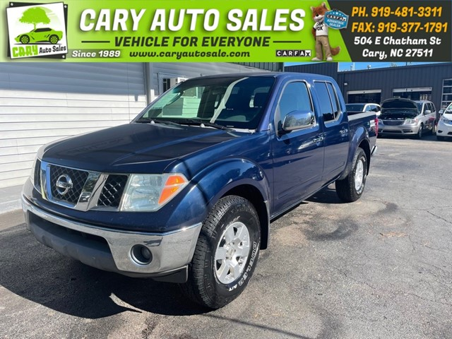 NISSAN FRONTIER Crew Cab V6 Auto 4WD in Cary