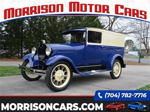 Picture of a 1928 Ford Model A Panel Delivery