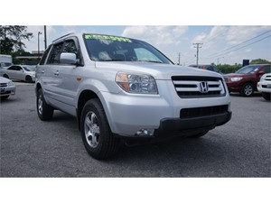 2007 Honda Pilot EX w/ Leather and DVD for sale by dealer