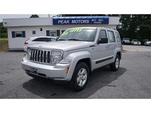 2012 Jeep Liberty Sport 4WD for sale by dealer