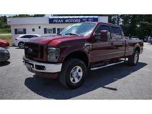 Picture of a 2008 Ford F-250 SD FX4 Crew Cab