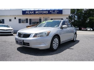 Picture of a 2009 Honda Accord LX Sedan AT
