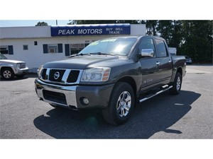 2007 Nissan Titan XE Crew Cab 4WD for sale by dealer