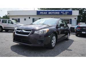 Picture of a 2013 Subaru Impreza Base 4-Door