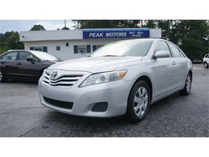Picture of a 2010 Toyota Camry Camry-Grade 6-Spd AT