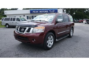 Picture of a 2010 Nissan Armada SE 2WD