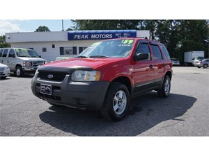 Picture of a 2002 Ford Escape XLS Choice