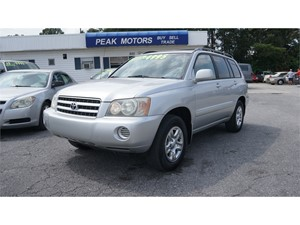 Picture of a 2002 Toyota Highlander 2WD