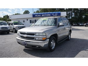 Picture of a 2003 Chevrolet Tahoe 2WD