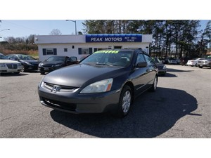 Picture of a 2004 Honda Accord LX sedan AT