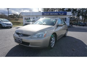 2005 Honda Accord EX V-6 Sedan AT with Navigation System for sale by dealer