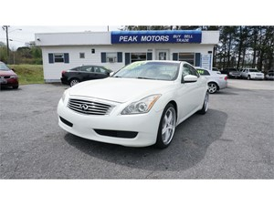 Picture of a 2008 Infiniti G37 Base