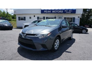2016 Toyota Corolla L 4-Speed AT for sale by dealer